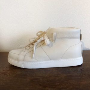 Coach Shoes - Coach | Robby Pebbled Leather Sneaker Bootie